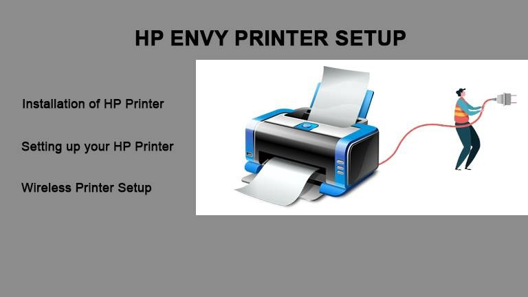 Connect HP Envy 5000 Printer to WiFi