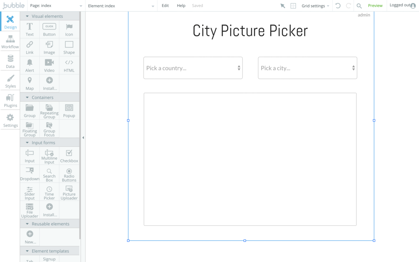 How To Build Dynamic Dropdown Elements - Inside The Bubble