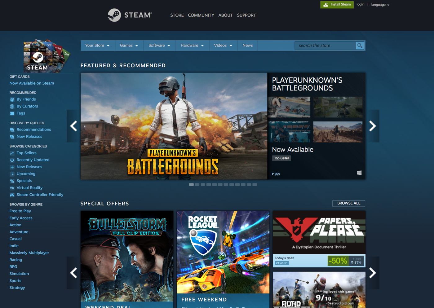 Redesigning the Steam mobile experience — a UX case study