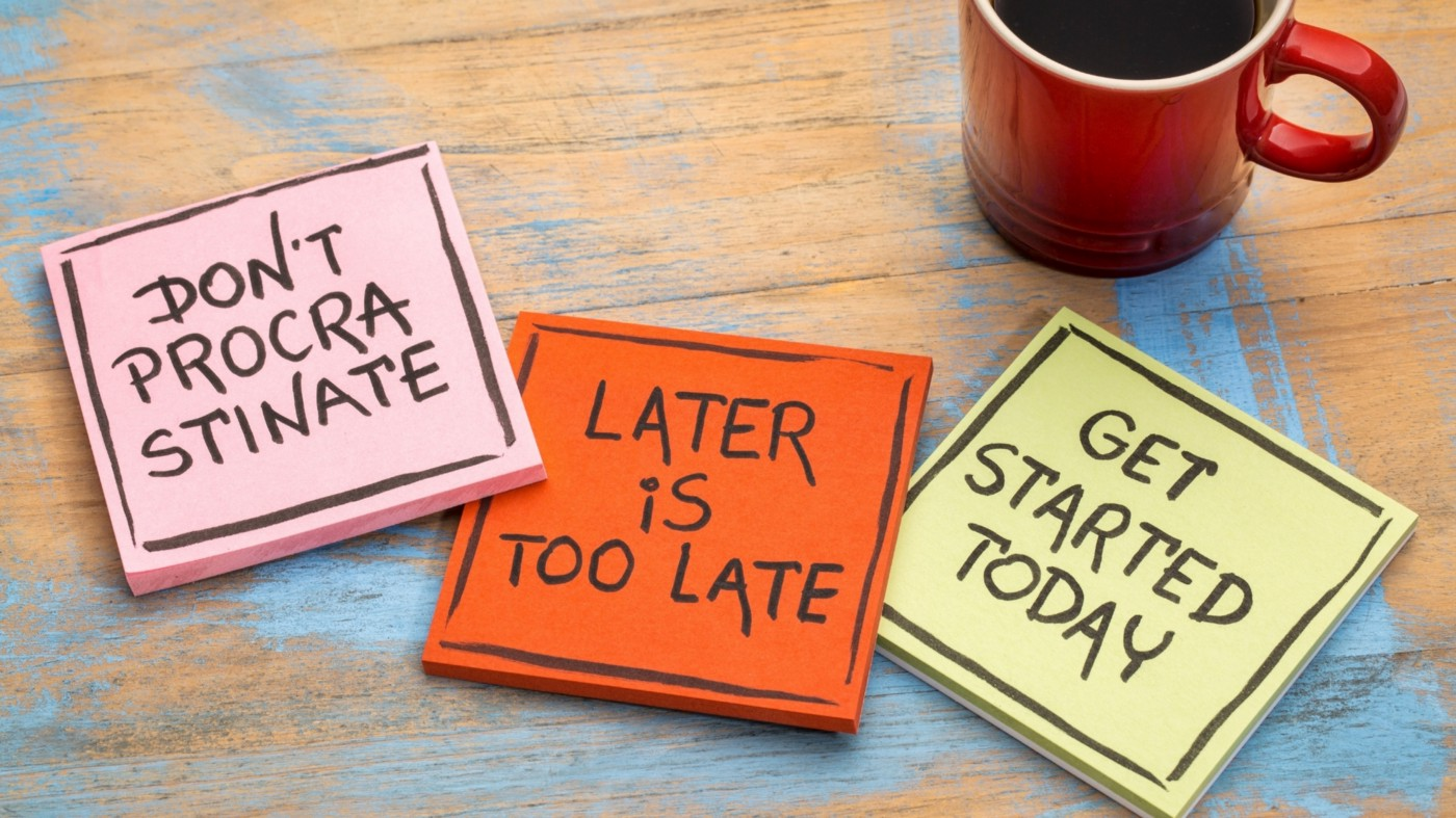 Procrastination and How To Deal With It