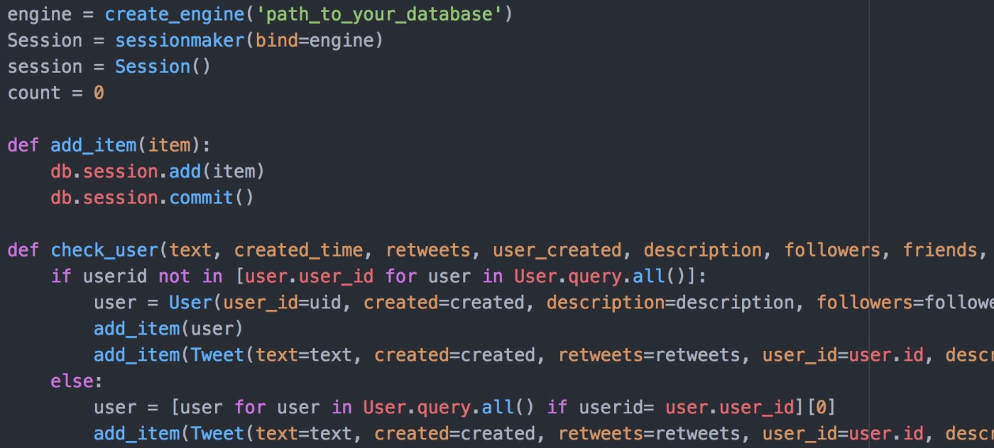 Storing Tweets in a Relational Database - Towards Data Science