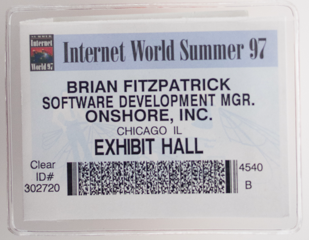 Ten Rules for a Better Conference Name Badge - Brian Fitzpatrick