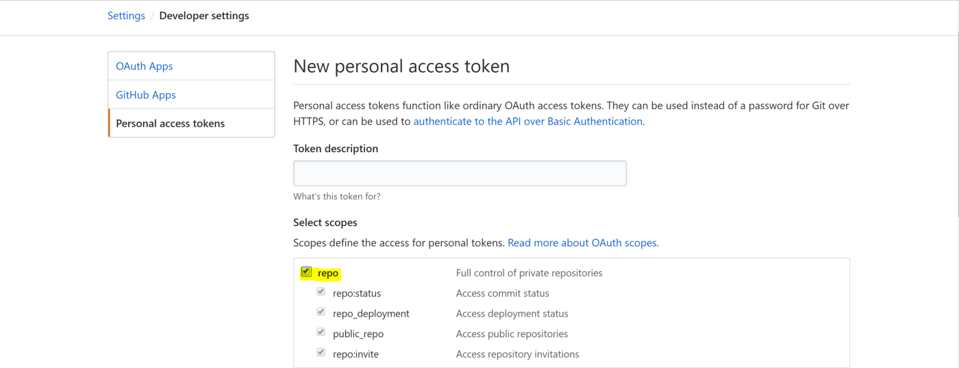 Fetching private GitHub repos from a Docker container