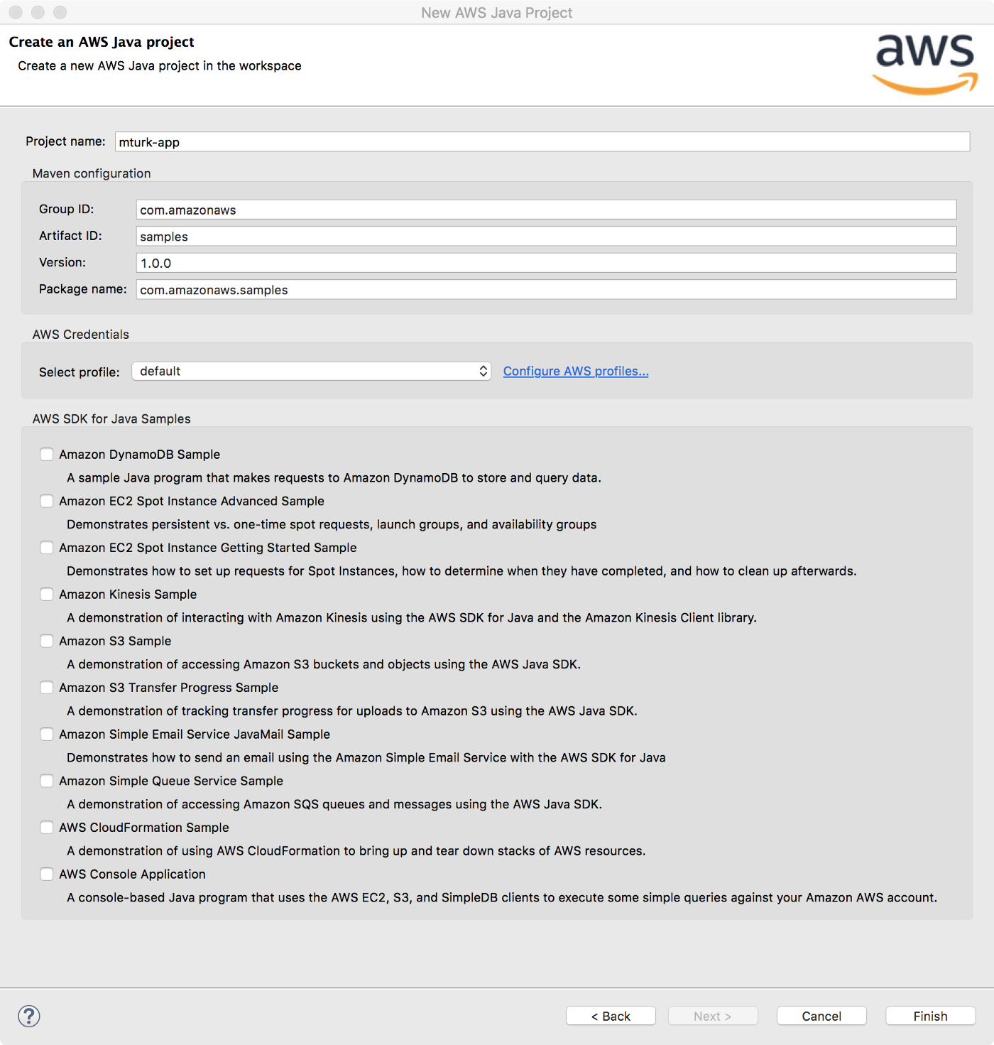 Tutorial: Using the MTurk API with the AWS SDK for Java