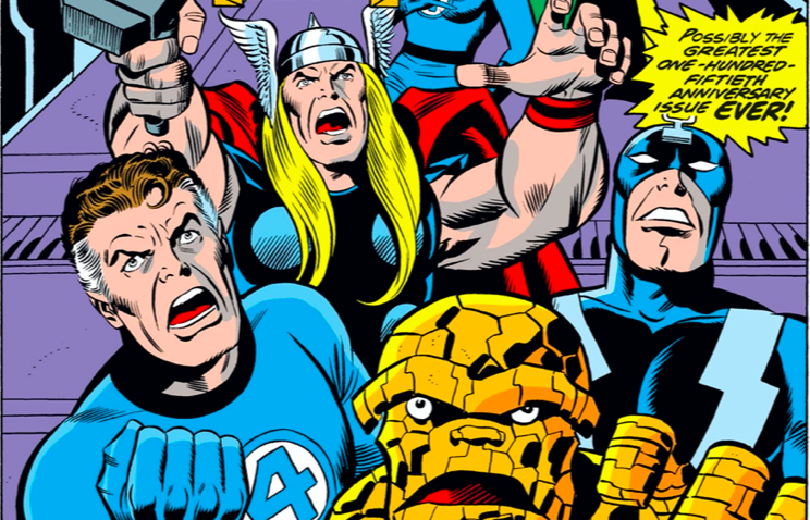 The Avengers, Fantastic Four, and Inhumans team up to defeat Ultron