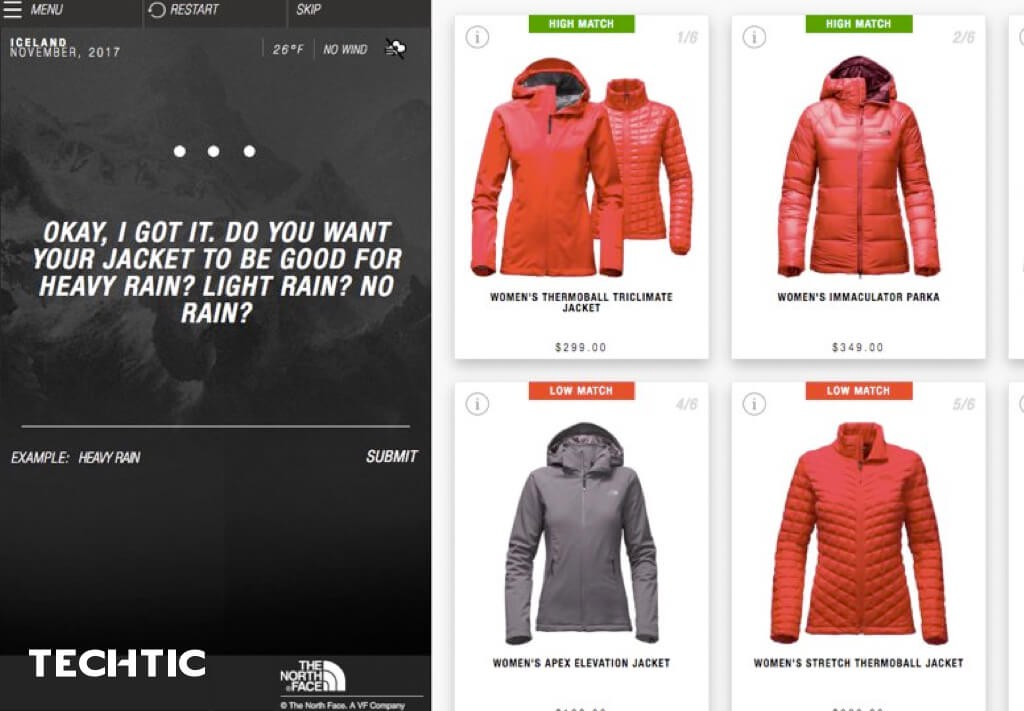 North Face Boost Conversions Using AI and ML