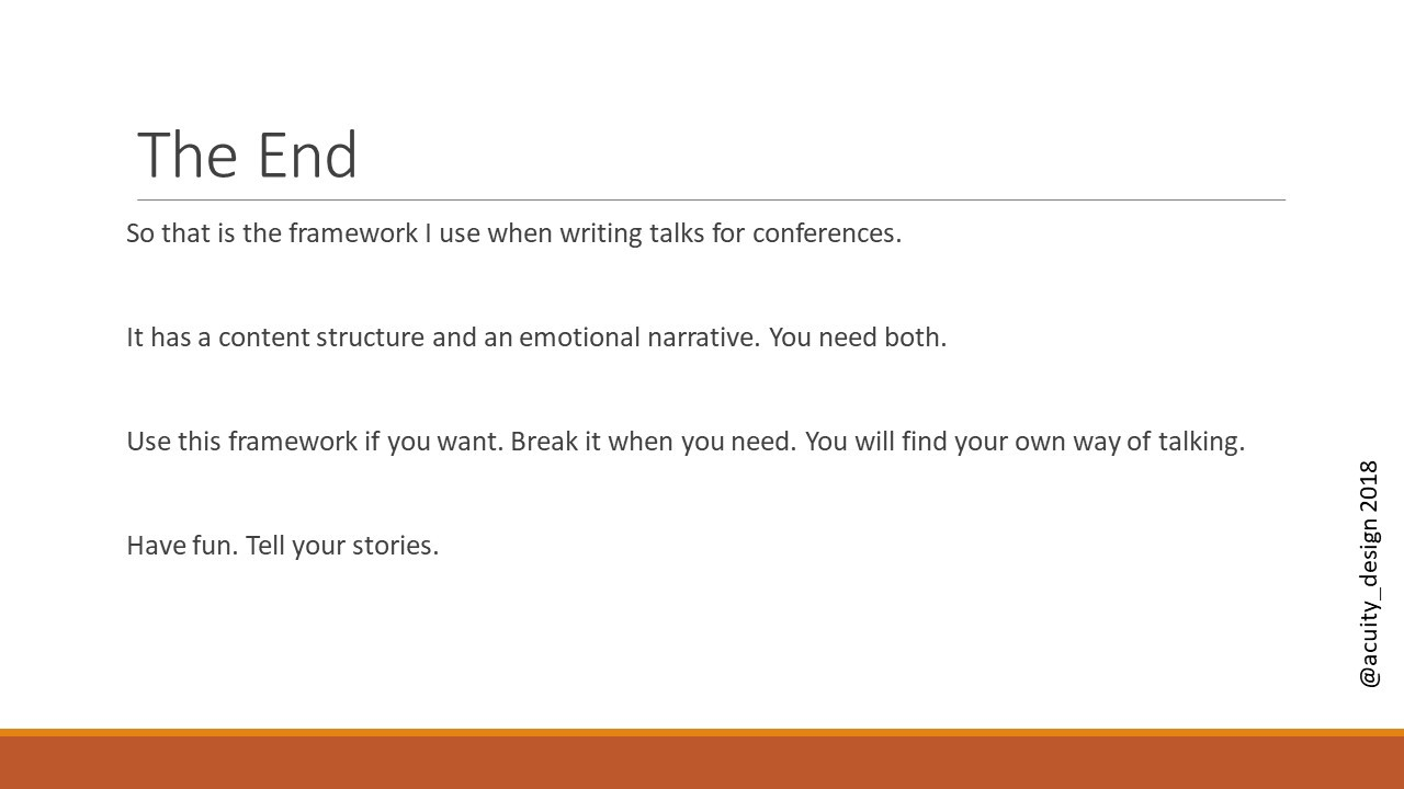 Talk Maker: a template for making your own talk - Alastair