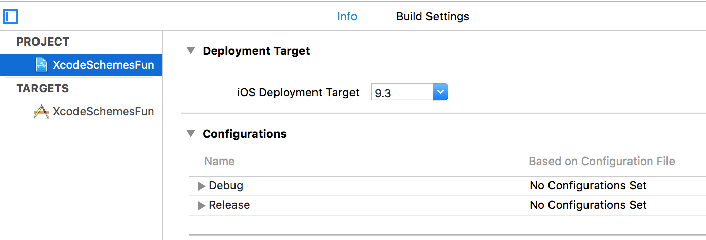 Run multiple versions of your App on the same device using Xcode