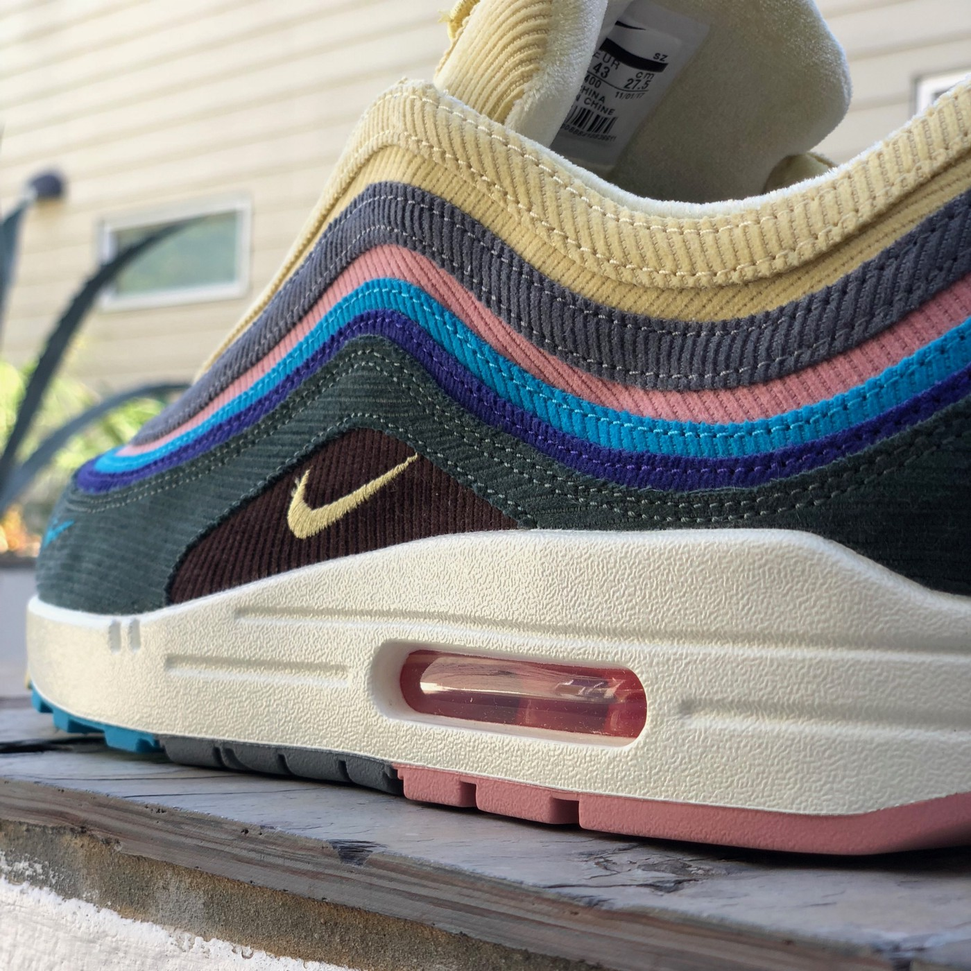 """In-Depth Sneaker Review: Nike Air Max 1/97 """"Sean Wotherspoon""""   by ..."""