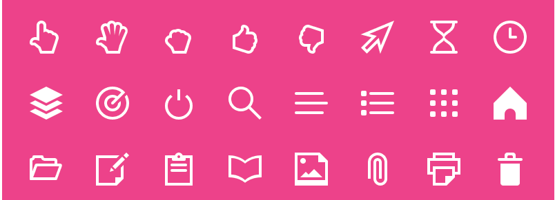 Simple Line Icons Svg