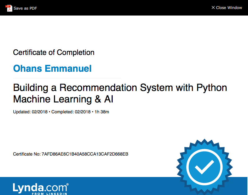 Day 1: Building a Recommendation System Using Machine Learning (ML