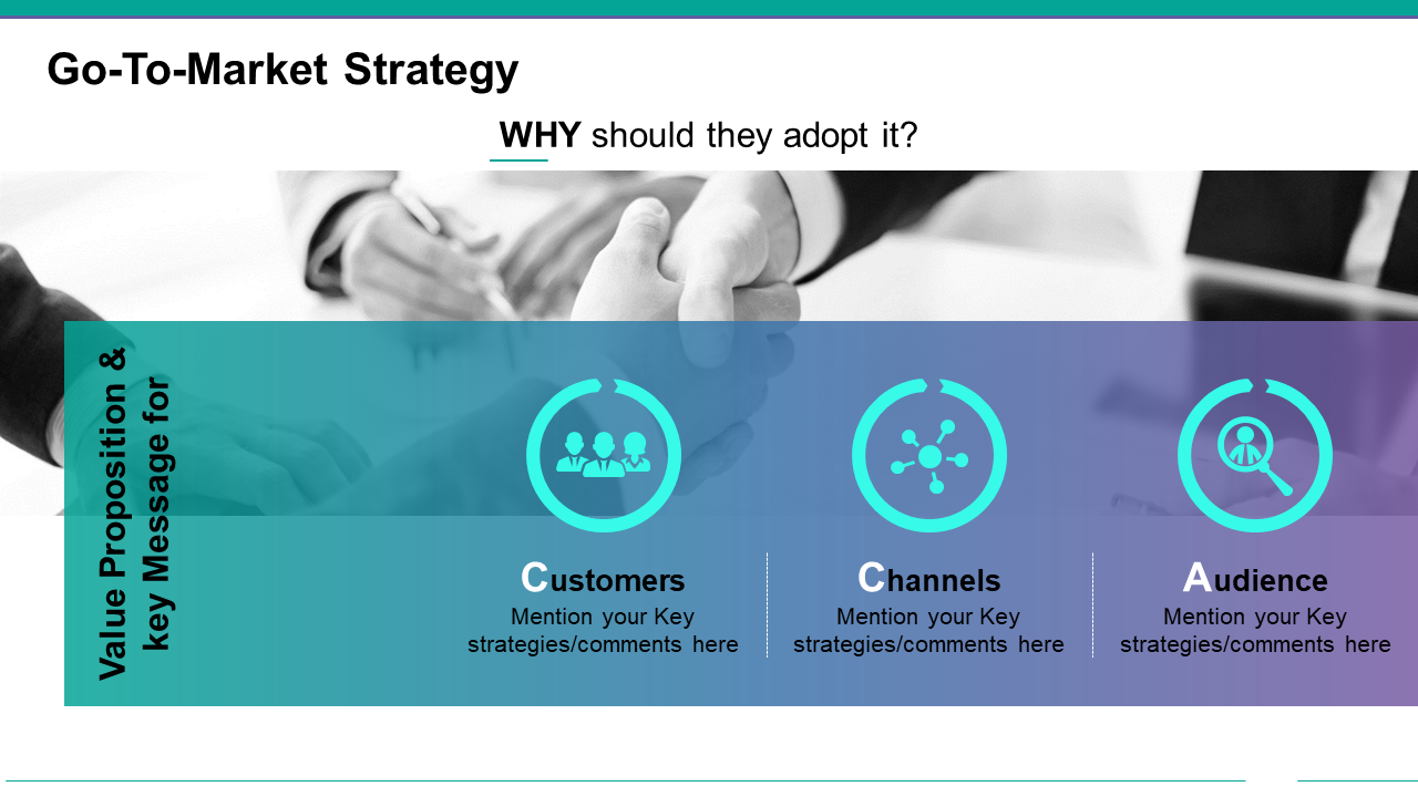 Go to Market Strategy PPT Graphic
