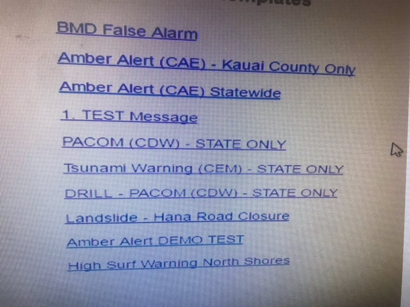 The Hawaii Missile Alert Culprit: Poorly Chosen File Names