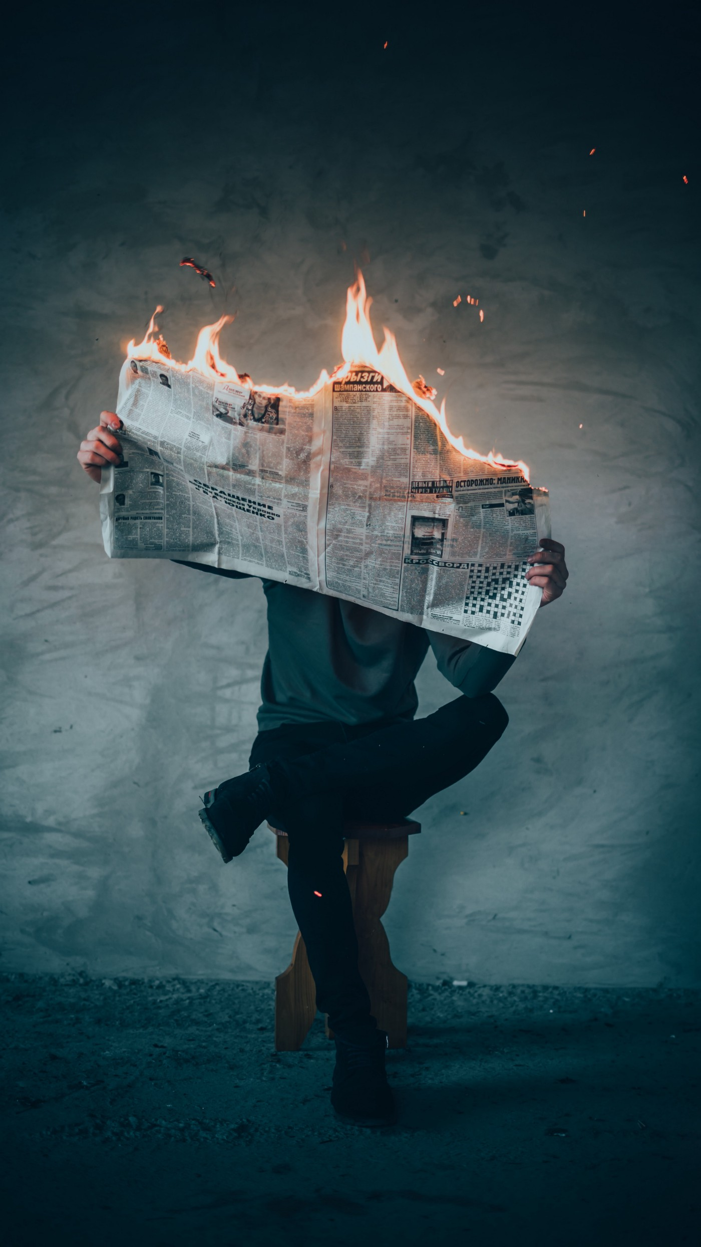 Newspaper on Fire: Jos Opdweeegh on Trust in the Workplace
