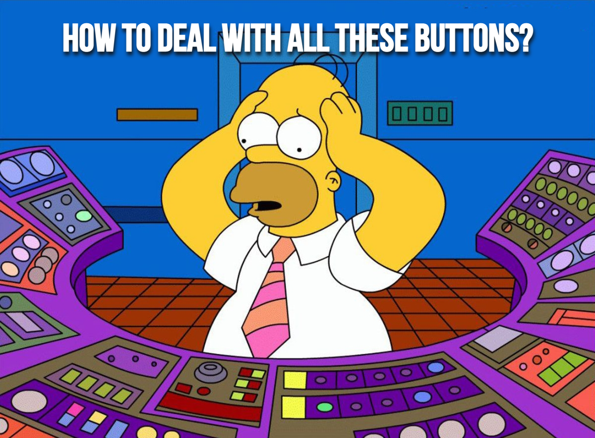 Too many buttons in your widget?