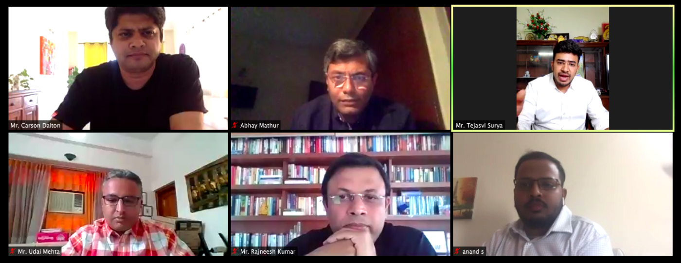 All five speakers at the OMI webinar moderated by Mr. Carson Dalton of Ola Mobility Institute