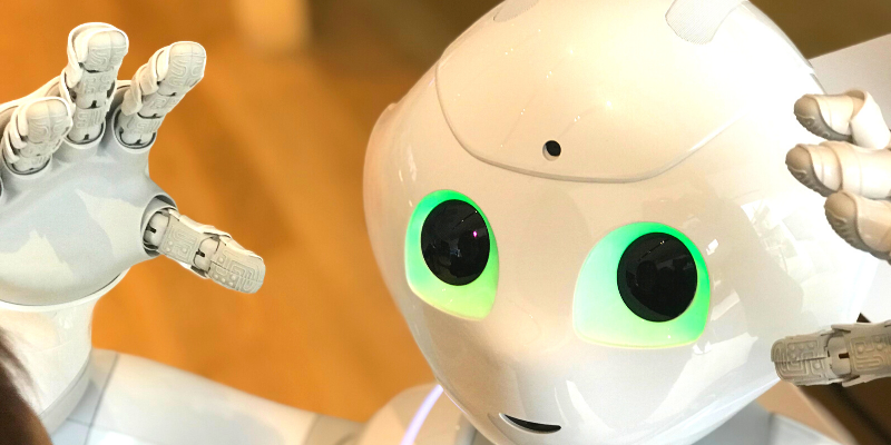 A robot—I Interviewed Advanced AI About Dating—Here's What It Said