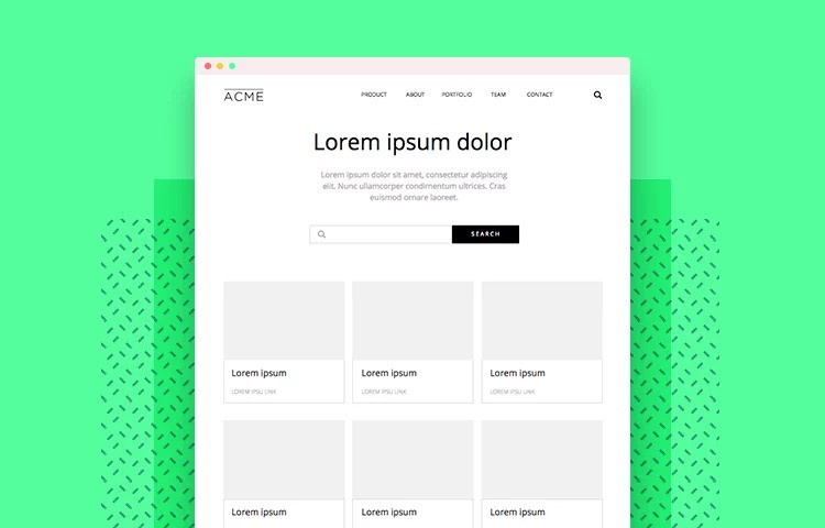 Wireframing With Various Application for design web pages