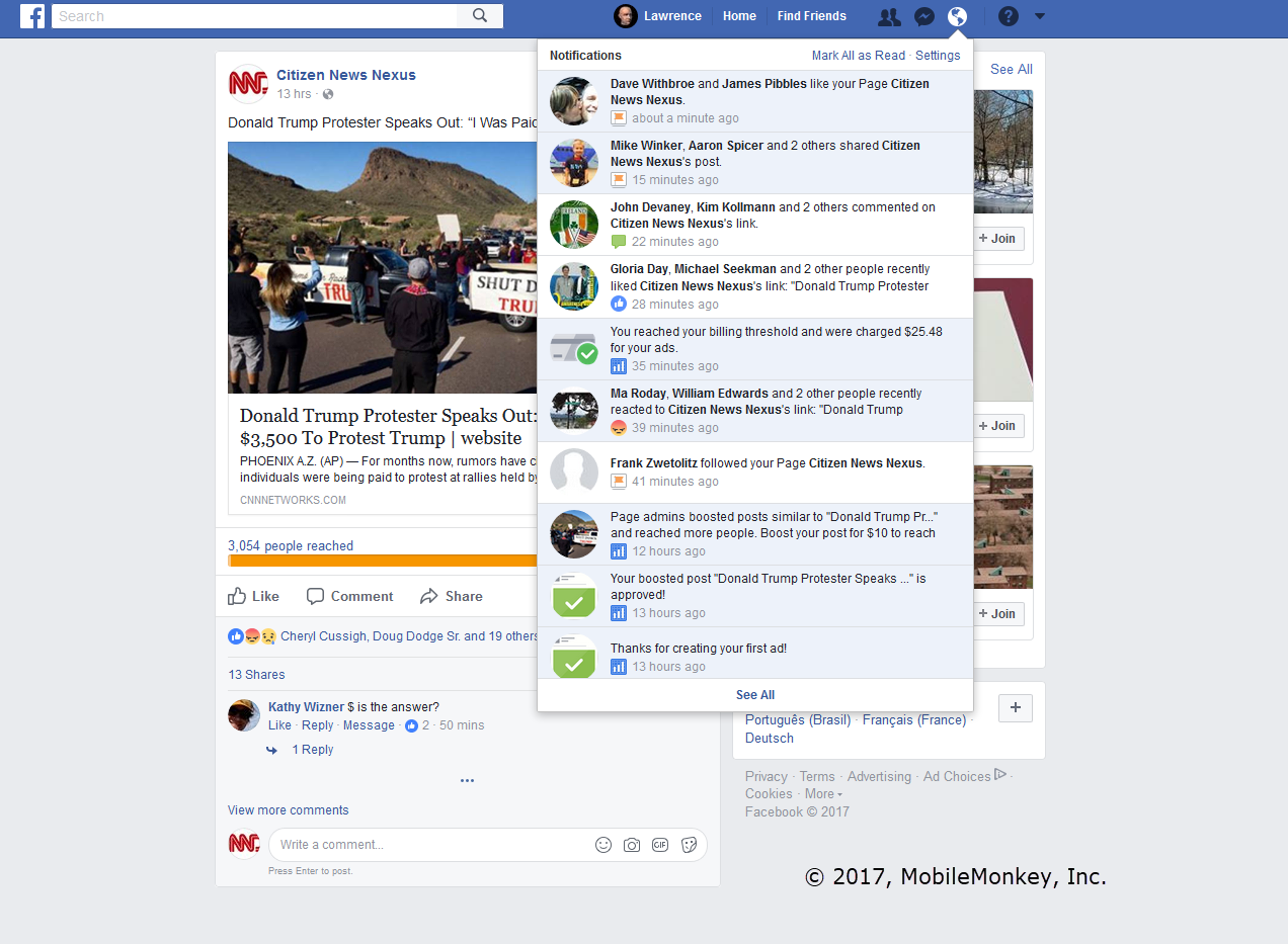 Facebook Ads, Fake News and the Shockingly Low Cost of Influencing