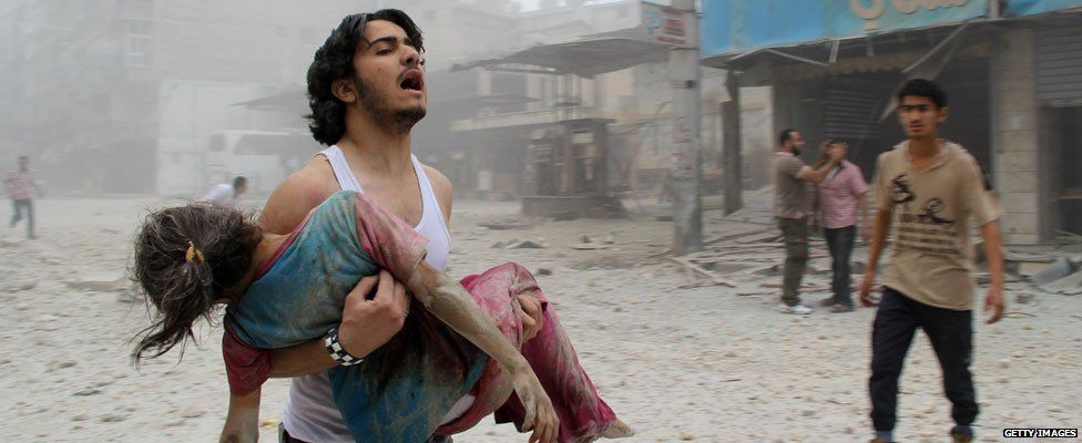 The war in Syria has cost over 500 thousand lives