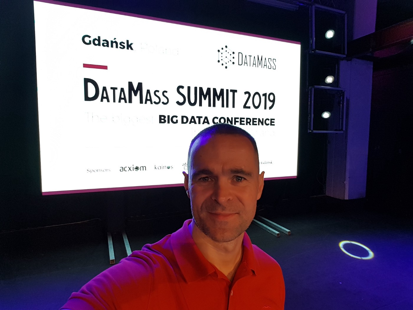 Me at DataMass Summit 2019