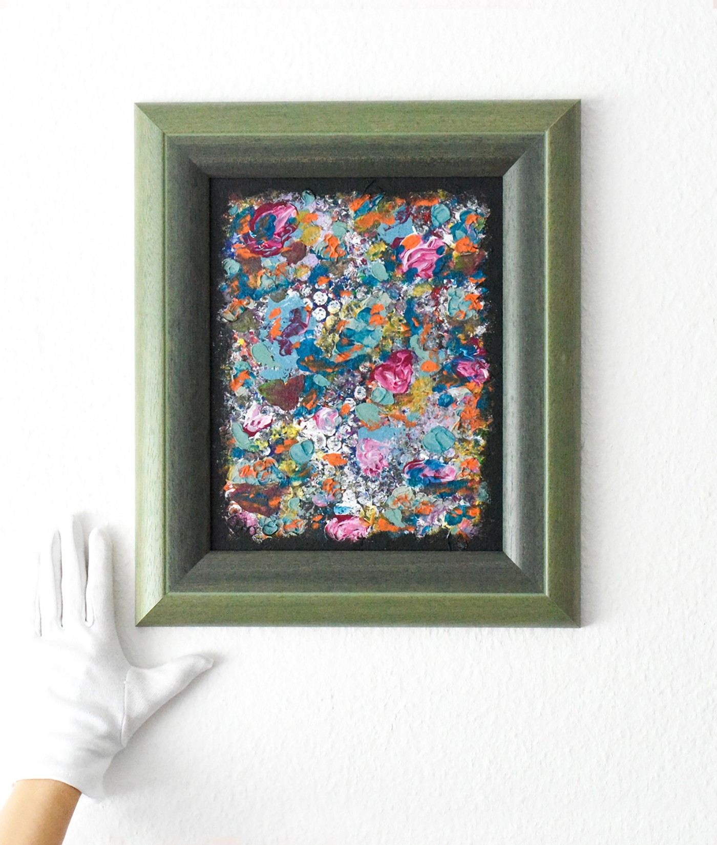 Small abstract painting—art gift