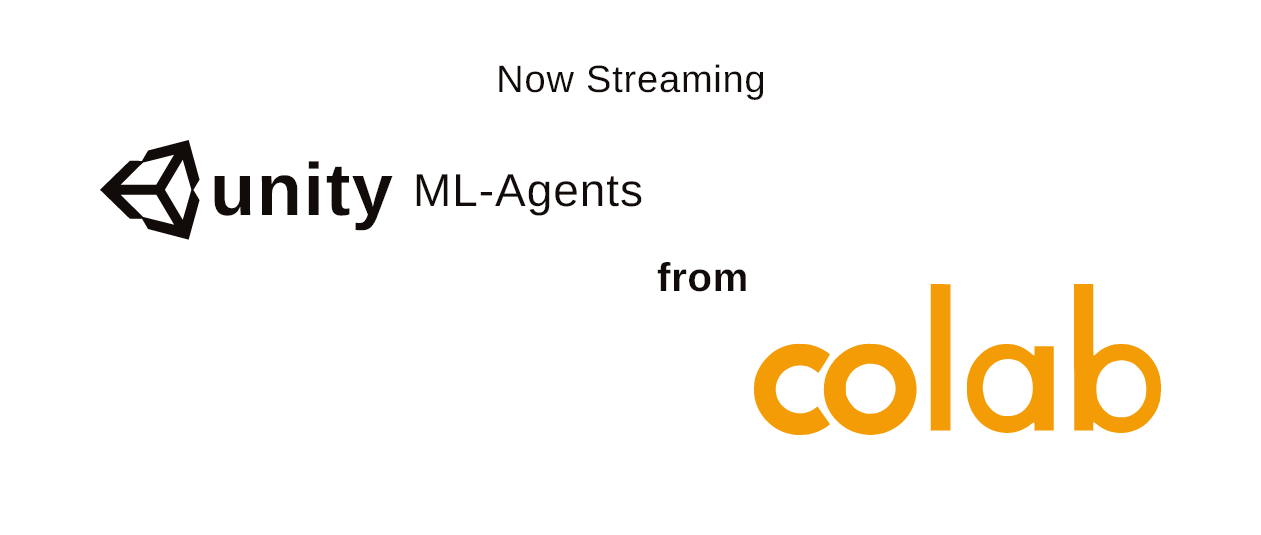 Live streaming ML-Agents training process from google colab