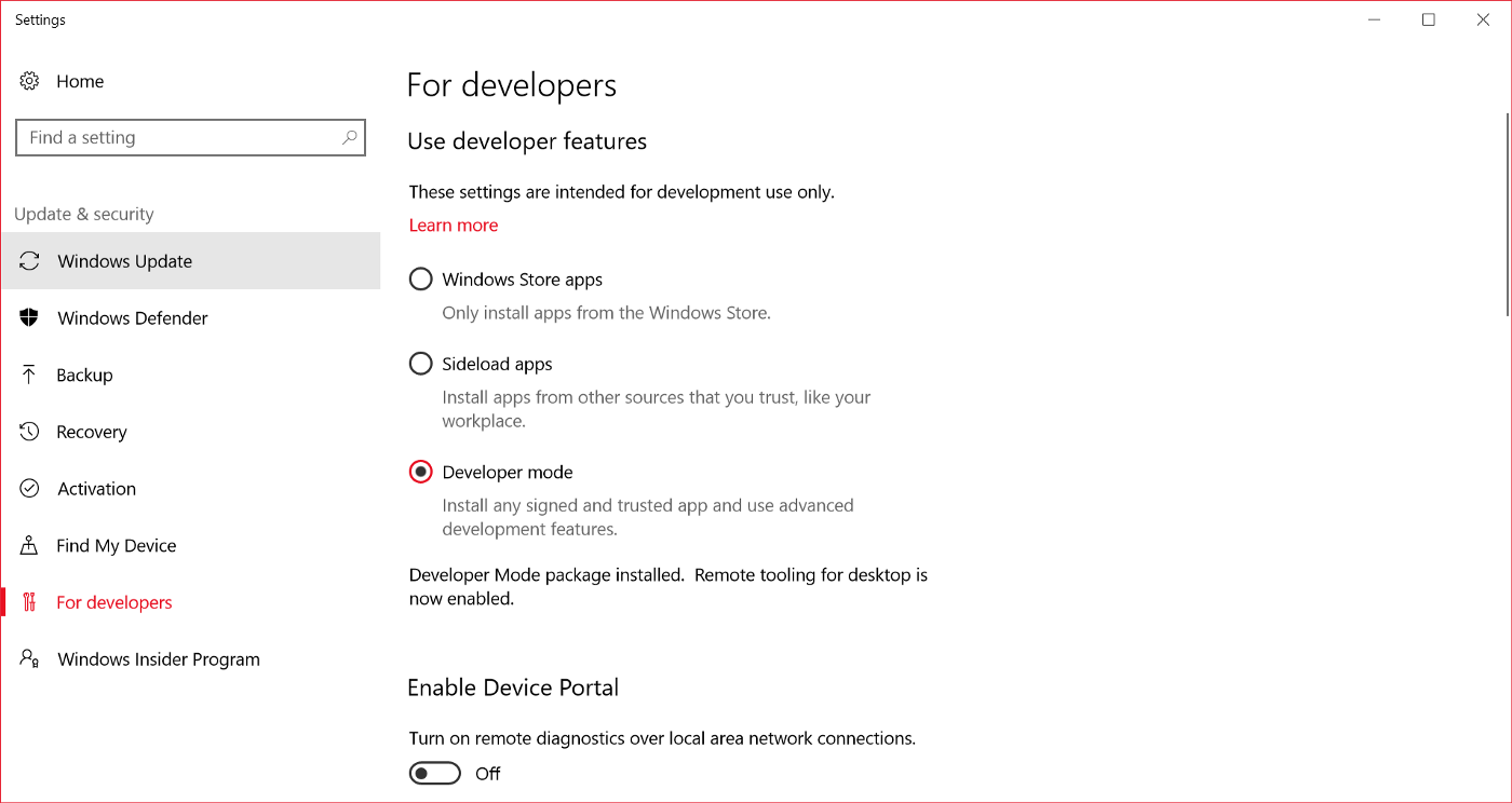 Getting Started with React Native Development for Windows