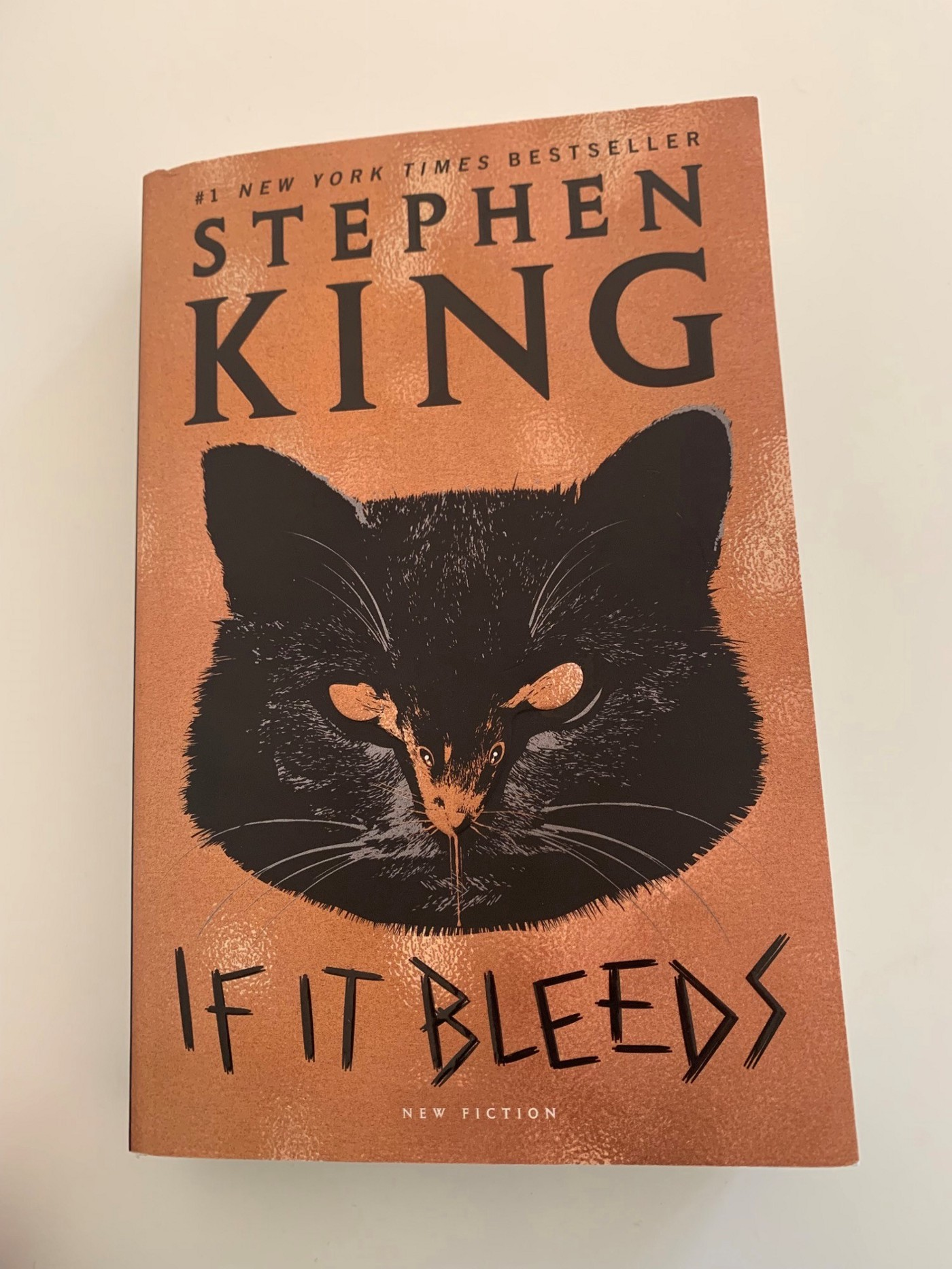 Book cover If it bleeds