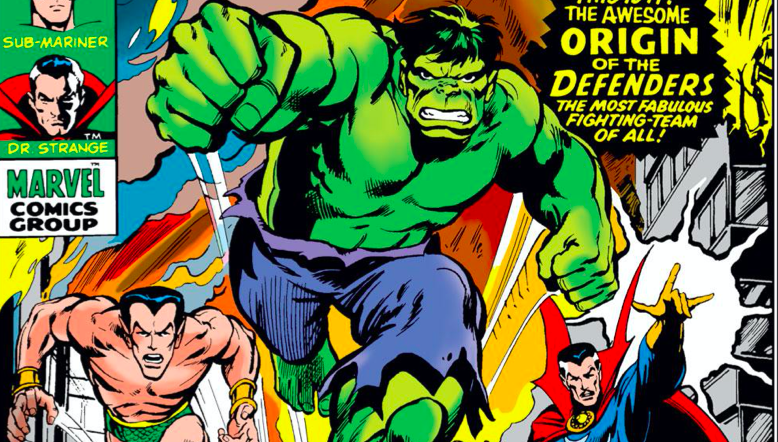 The Defenders first cover appearance