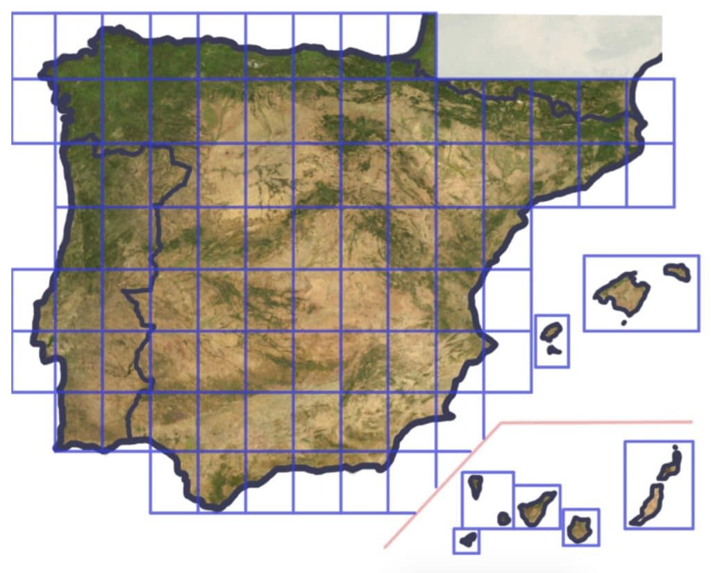 High-resolution photos of the Iberian Peninsula for X-Plane 11