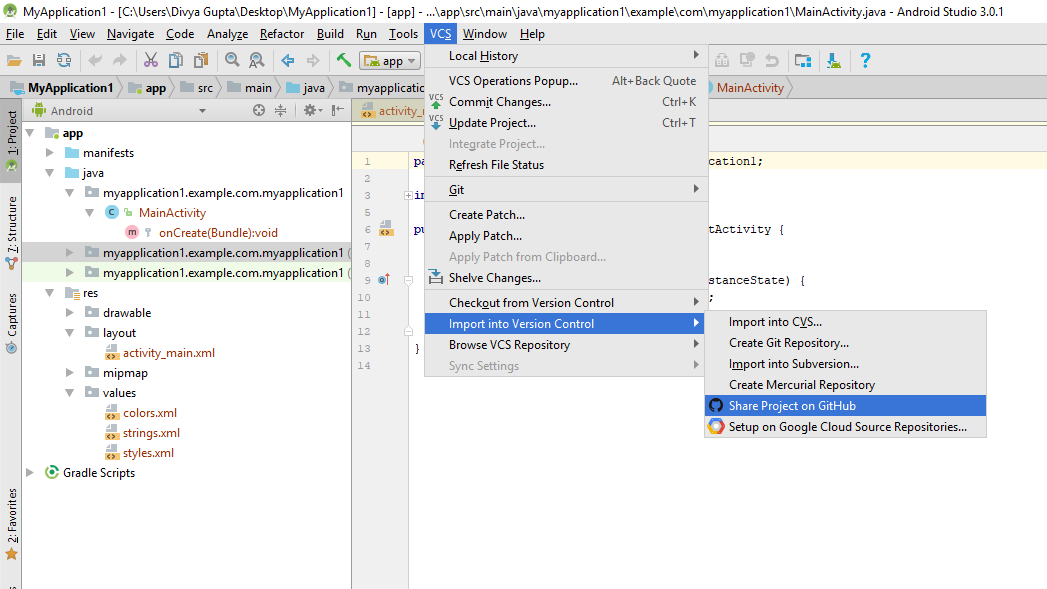 Git For Android Studio Download