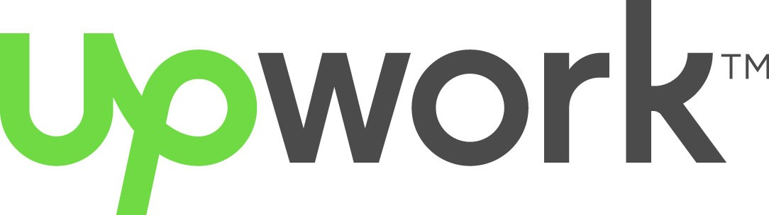 The Upwork logo, green and grey text on a white background.