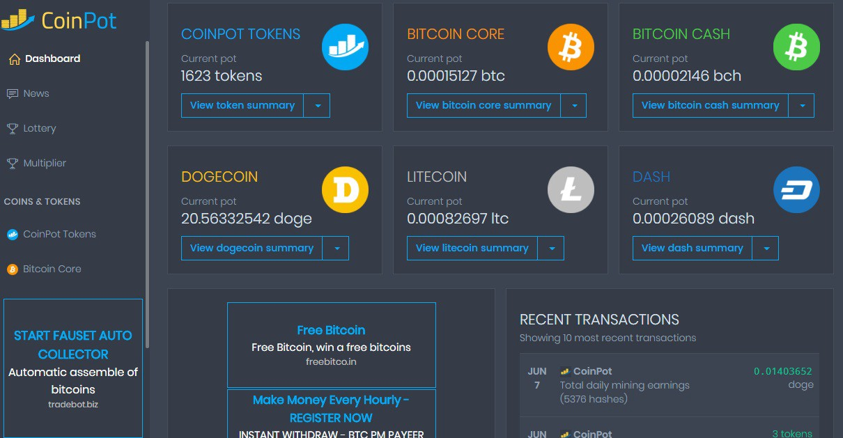 How to Earn Free Bitcoins Online From Coinpot Faucets