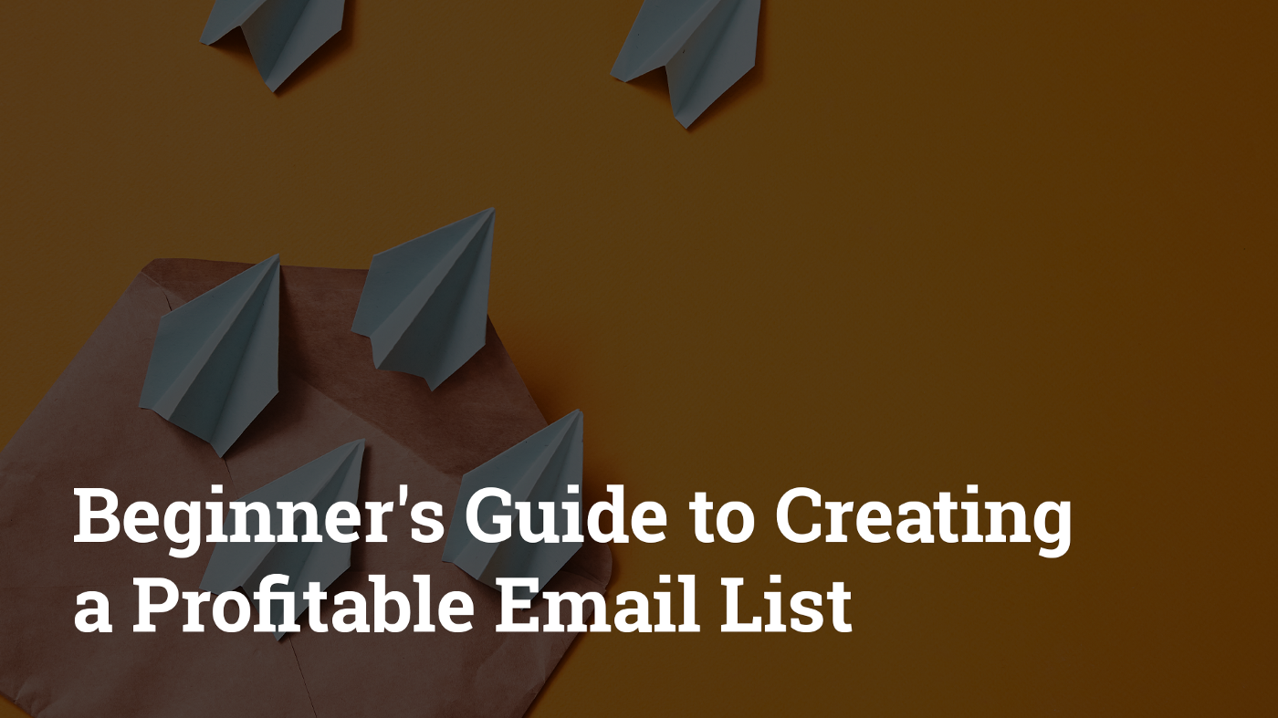 Beginner's Guide to Creating a Profitable Email List. Hurree — The Segmentation Company.
