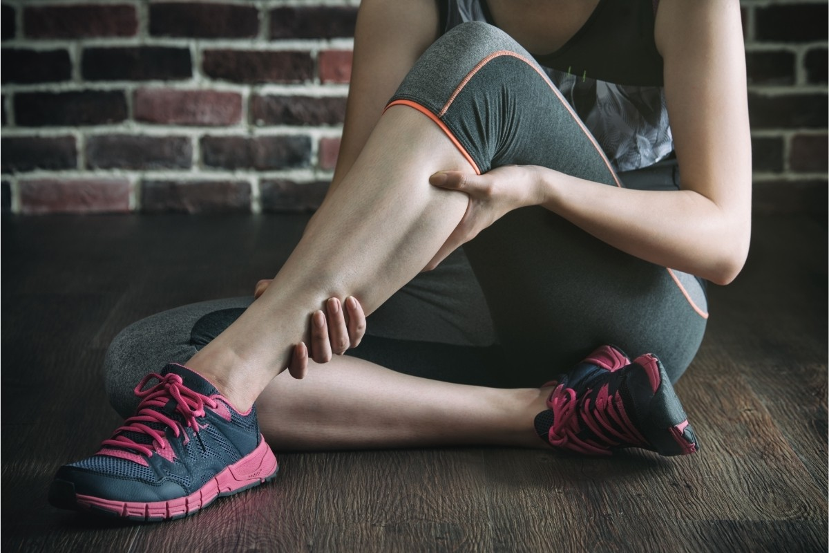 Muscle strain It's basically stretching or tearing of a muscle or a tissue connecting muscle to the tendon.
