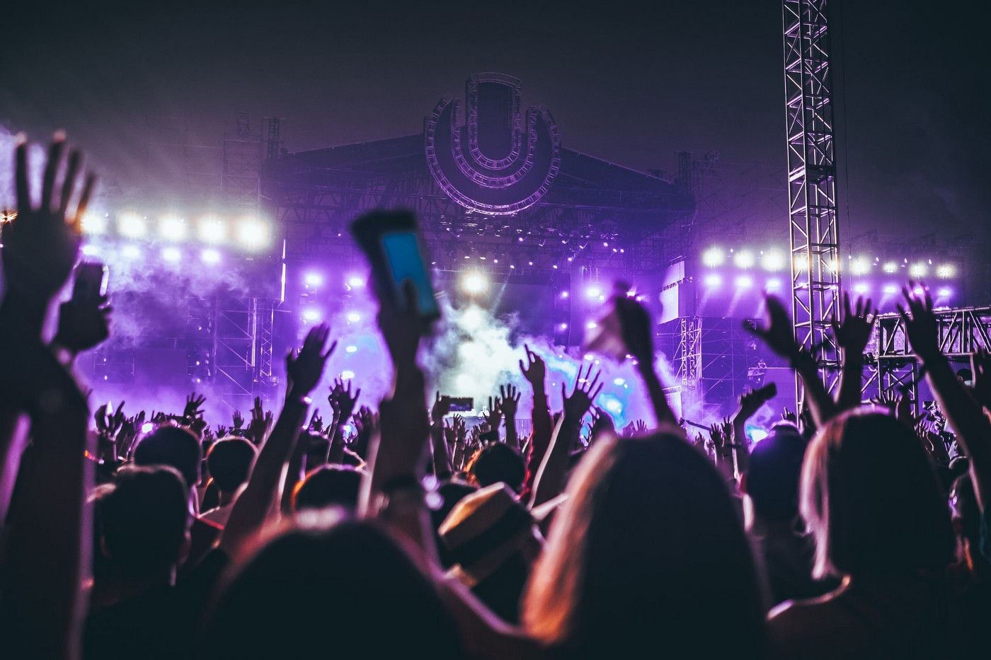People at a concert