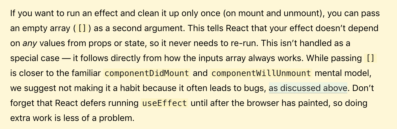 Little Neat trick to capture click outside with React Hook