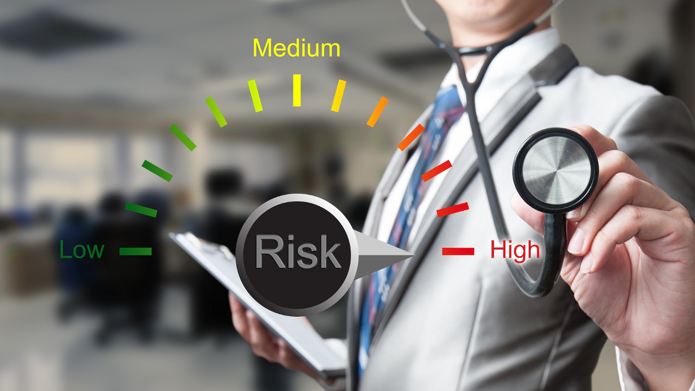 Key Risk Assessment Concepts—abstract illustration