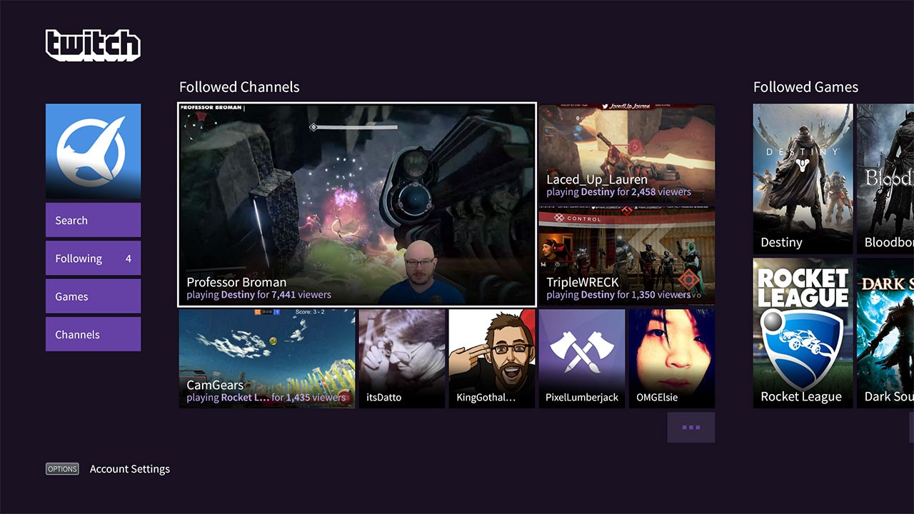 Europe Joins The Ranks — Get The Twitch PS4 App Now!