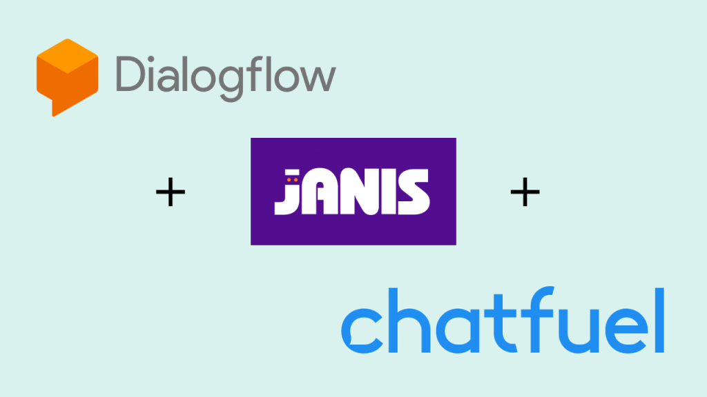 Connect Dialogflow with chatfuel using janis