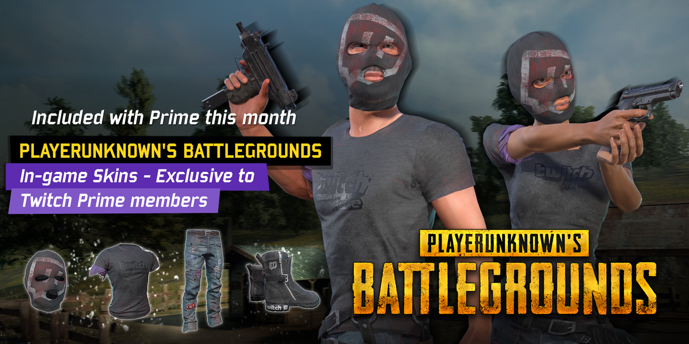 PLAYERUNKNOWN'S BATTLEGROUNDS Exclusive Skins Now Available