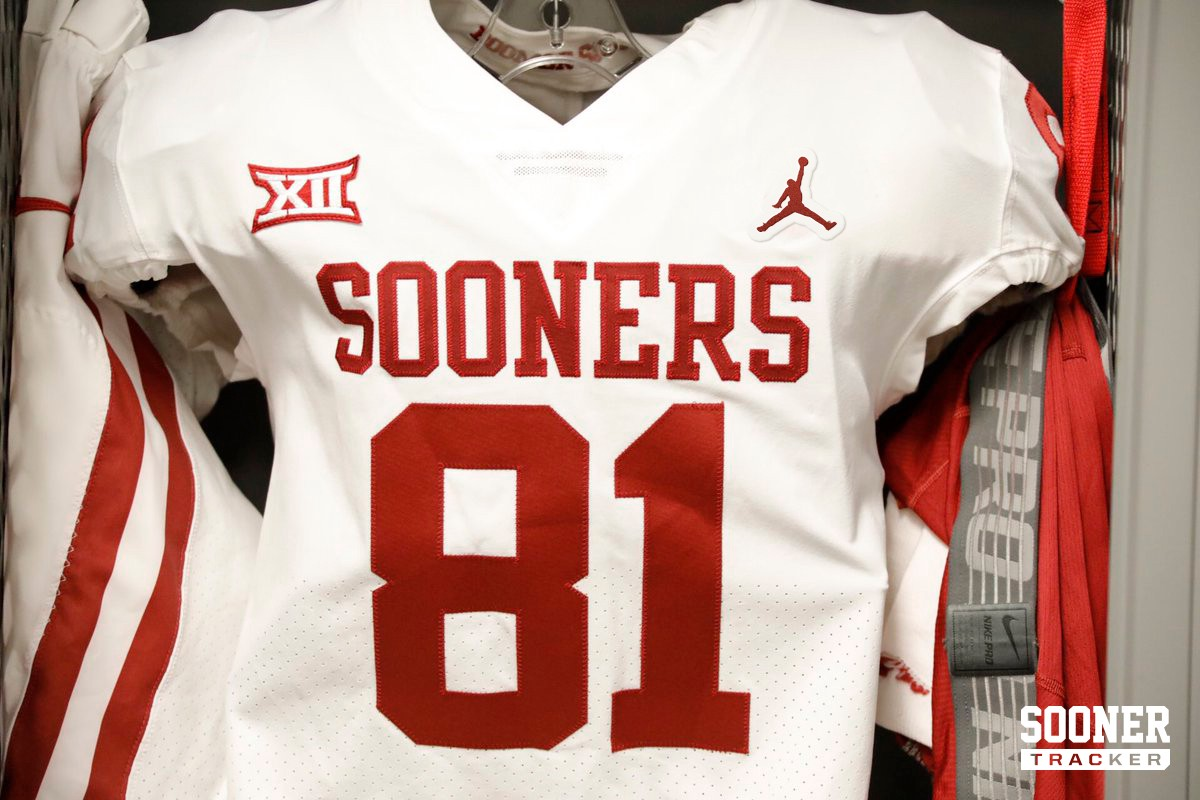 free shipping 3754e 9f651 Mockup of what the Sooners current road jersey would look like with Jordan  branding
