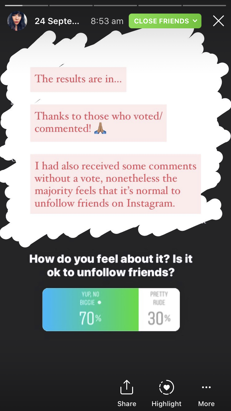 Instagram he me on unfollow why did He unfollowed