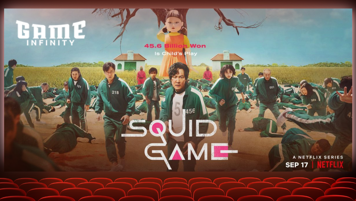 Gameinfinity suppor the new Squid game show by Netflix that has created a hype recently.