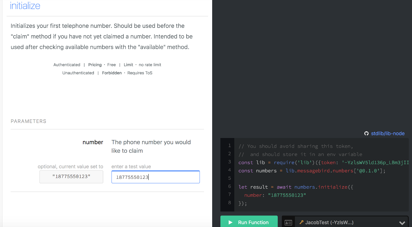 Announcing MessageBird API on StdLib: Add SMS to Your Application in
