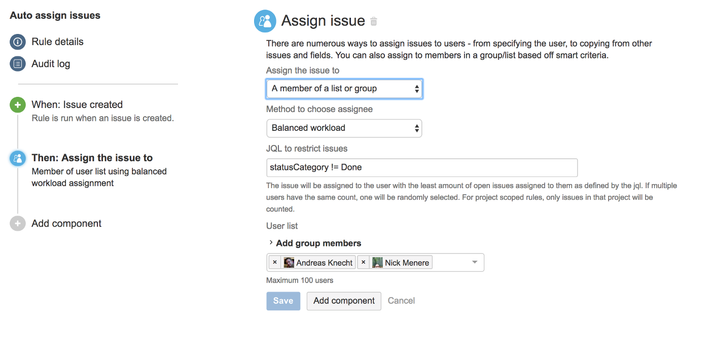 Smart assign JIRA issues — Load balancing, round-robin and more!