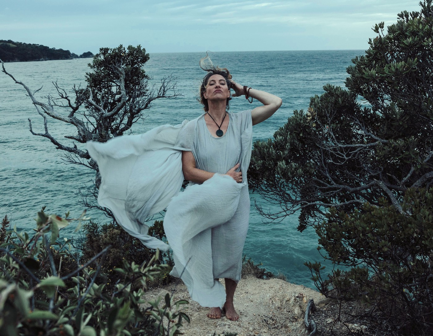 I pinched this picture of Amanda Palmer from her website but that's OK because she kicked my friend in the head