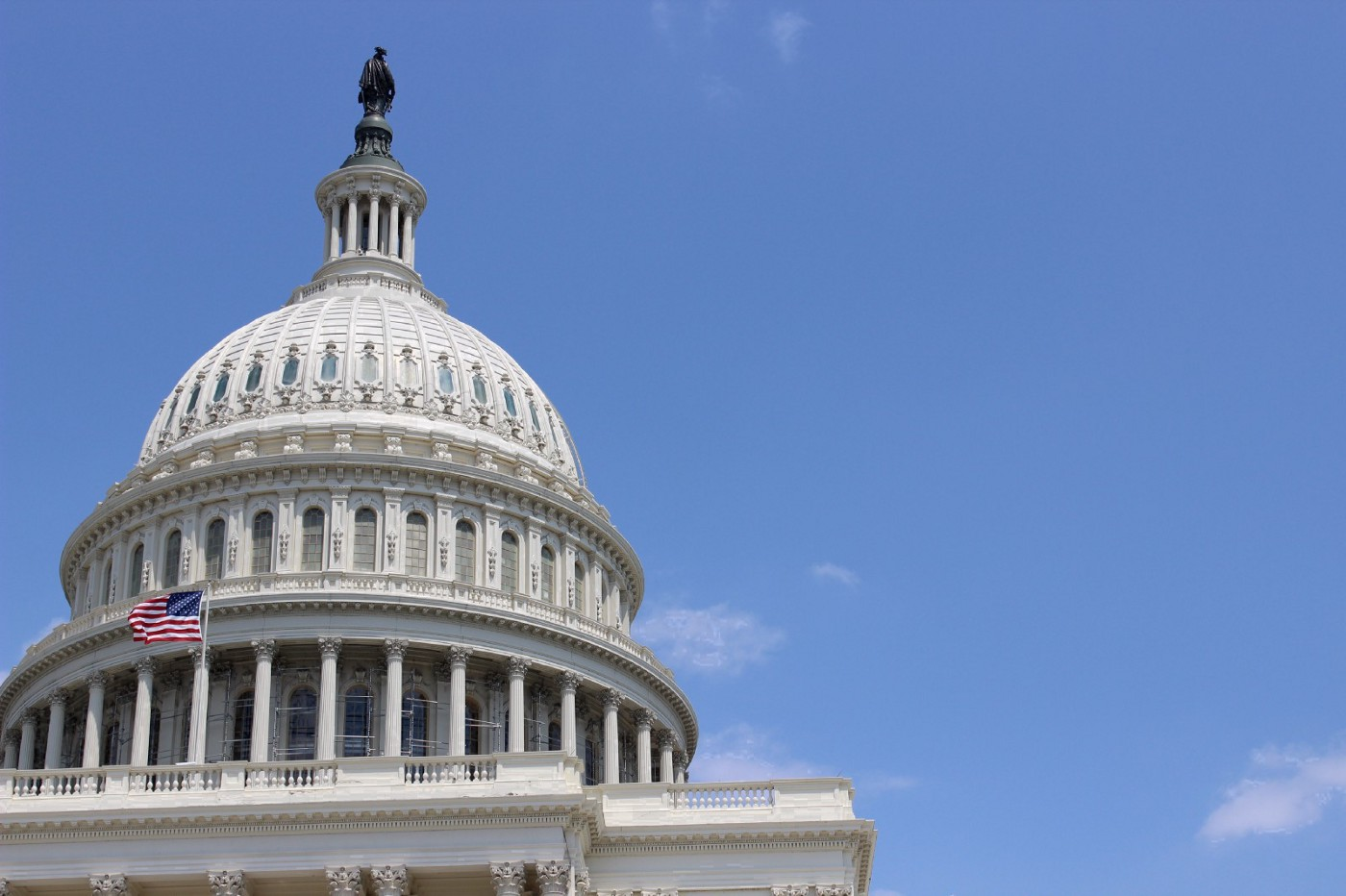 An image of the dome of the United States Capitol. Photo credit: Jessica M. Castillo, 2014.