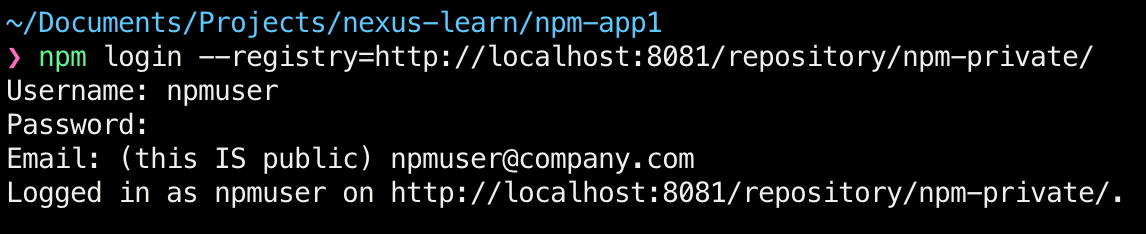 Publishing private NPM packages to Nexus - Level Up Coding